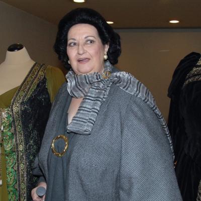 03ENERO2012 Bodas de oro de la soprano catalana, Montserrat Caballé, con una exposición y concierto en el Gran Teatre del Liceu de Barcelona. Foto: Agencia.