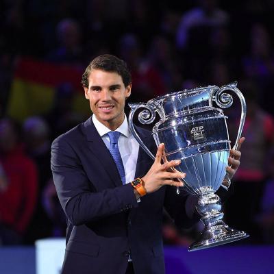 NOVIEMBRE2017 Merecido reconocimiento para el maestro Nadal. Foto: TenisWeb.