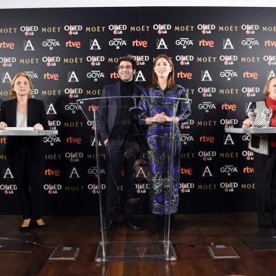 DICIEMBRE2017 Lectura de los nominados a los 32 Premios Goya.