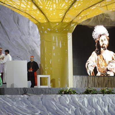 18 al 21AGOSTO2011. Imágenes de la visita del Papa Benedicto XVI, con motivo de la Jornada Mundial de la Juventud en Madrid. Foto: Agencia.