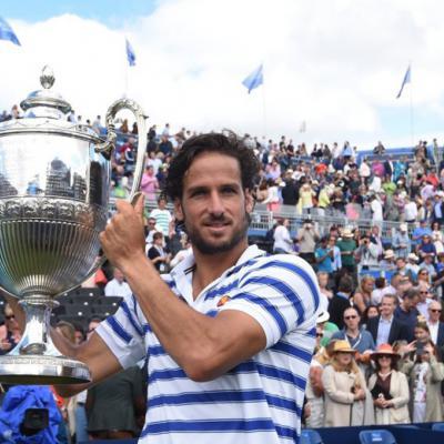 25JUNIO2017 Feliciano López gana en Queen's. Foto: Agencia.