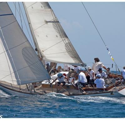 JULIO2011 IV Regata Puig Vela Clàssica, una competición única dentro del circuito internacional.