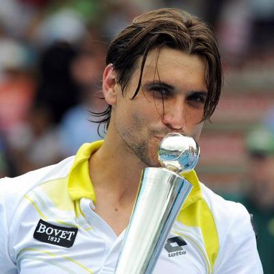 12ENERO2013 David Ferrer ganador por cuarto año y tercero consecutivo en el Open de Auckland. Foto: HeinekenOpenAuckland.