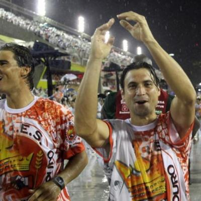 23FEBRERO2015 David Ferrer logró el título de Río de Janeiro. Foto: Agencia.