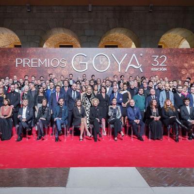 ENERO2018 Nominados a las 32 edición de los Goya. Foto: Alberto Ortega - Cortesía de la Academia de Cine.