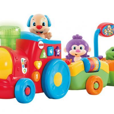 20OCTUBRE2014 Novedades de Mattel. Tren Interactivo de Perrito de Fisher Price.