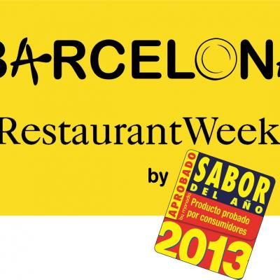 07MARZO2013 Cartel  de la Barcelona Restaurant Week.