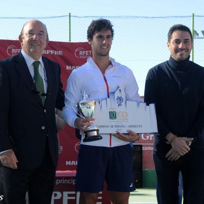 DICIEMBRE2017 Carlos Taberner y Paula Badosa, nuevos Campeones de España de Tenis.