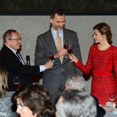 12FEBRERO2015 Los Reyes ponen el broche de oro al centenario de Freixenet. Foto: Agencia.