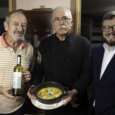 01OCTUBRE2014 Un arroz de Karlos Arguiñano en Barcelona.
