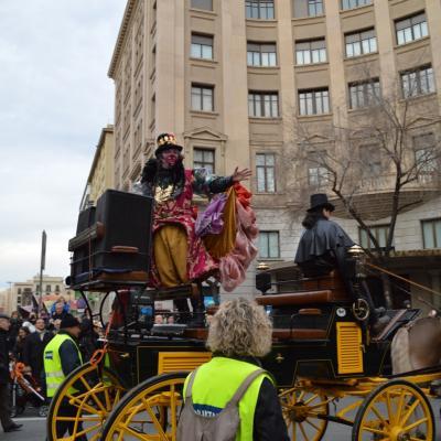 10FEBRERO2013 Rúa del rey Cornestoltes. Foto: Manel Martin.