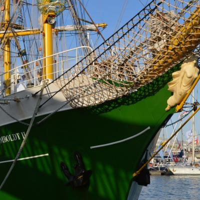 24SEPTIEMBRE2013 Mediterranean Tall Ships Regatta en Barcelona, del 21 al 24. Foto:Manel Martin.