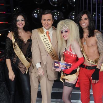 """30NOVIEMBRE2011 Gala 10 y final del concurso musical """"Tu cara me suena"""". Los finalistas. Foto: Antena 3."""
