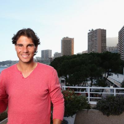 """15ABRIL2013 Bacardi Limited y Rafa Nadal desvelan que la """"Champions Party"""" se celebrará en Mallorca el próximo mes de Julio. Foto: Getty Image."""