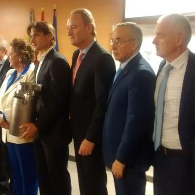 03MARZO2015 David Ferrer recibió el Premio Internacional Juan Antonio Samaranch.