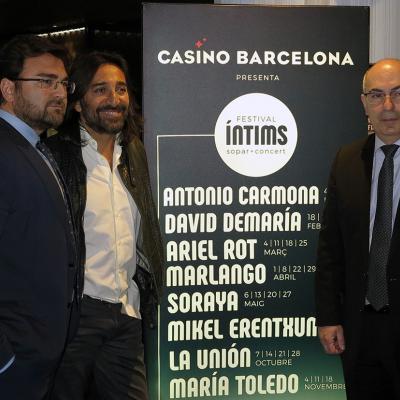 17ENERO2017 Presentación en el Casino Barcelona del Festival Íntims. Foto: Montse Carreño.