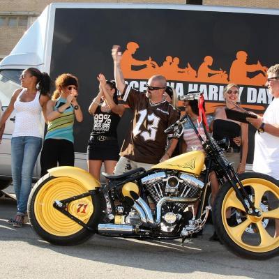 5AL7JULIO2013 Barcelona Harley Days. Ganadora absoluta.