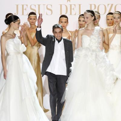 13AGOSTO2011 Fallecimiento del diseñador español Jesús del Pozo. Desfile novias BBW 2010. Foto: Archivo.