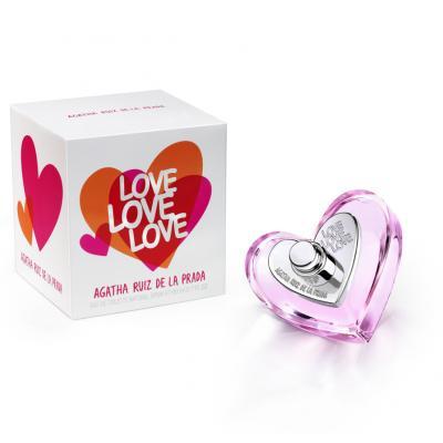 24ENERO2013 Nueva fragancia de Agatha Ruiz de la Prada LOVE LOVE LOVE. Foto: Puig.