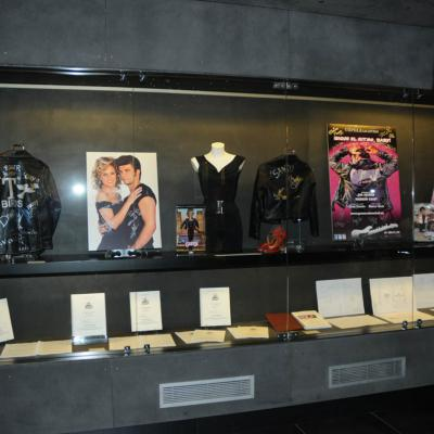"""29NOVIEMBRE2011 Inauguración de la exposición de """"Grease, el musical"""" en el Museo del Rock. Foto: Montse Carreño."""