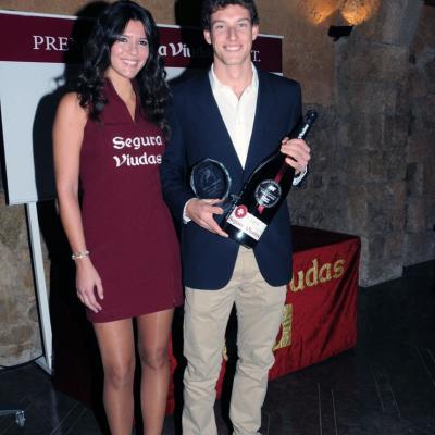 10DICIEMBRE2013 Premios APT en las cavas Segura Viudas. Pablo Carreño. Foto: Montse Carreño.