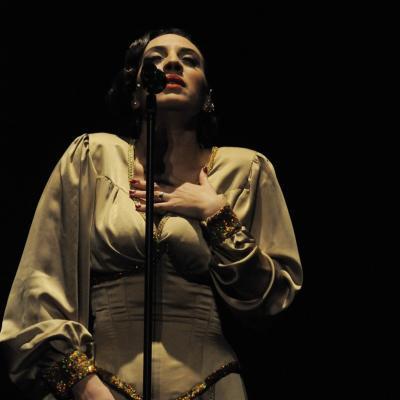 26ENERO2012 Madame Noir, mucho más que un concierto de Mónica Naranjo. Foto: Montse Carreño.