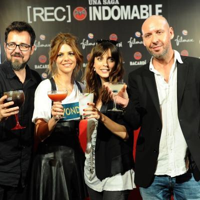 03OCTUBRE2014 Exposición y presentación de los cócteles inspirados en la saga [REC]. Foto: Montse Carreño.