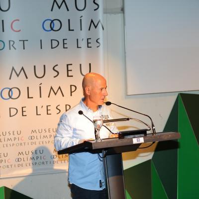 08MAYO2014 Homenaje a Álvaro Bultó en el Museu Olímpic de Barcelona. Foto: Montse Carreño.