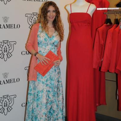 18ABRIL2012 Presentación de la nueva colección primavera/verano de la firma gallega Caramelo, con unos padrinos de lujo, Borja Thyssen y Blanca Cuesta. Foto: Montse Carreño.