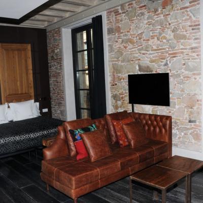 21MARZO2013 Inauguración del Aparthotel Arai de la cadena Derby Hoteles Collection. Hab. Executive. Foto: Montse Carreño.