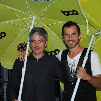 13JULIO2011 Inauguración del Restaurante Beach Club Boo. Josep Abril. Foto: Montse Carreño.