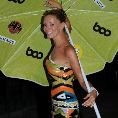 13JULIO2011 Inauguración del Restaurante Beach Club Boo. Paula Vázquez.Foto: Montse Carreño.