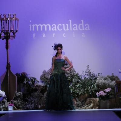 09MAYO2012 Desfile de Inmaculada García en la Pasarela Gaudí Novias 2012 e inauguración de su tienda. Foto: Montse Carreño.