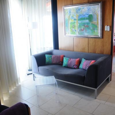 18SEPTIEMBRE2013 Desigual y el Hotel Barcelona Princess se han unido para decorar 18 habitaciones. Junior Suite. Foto: Montse Carreño.