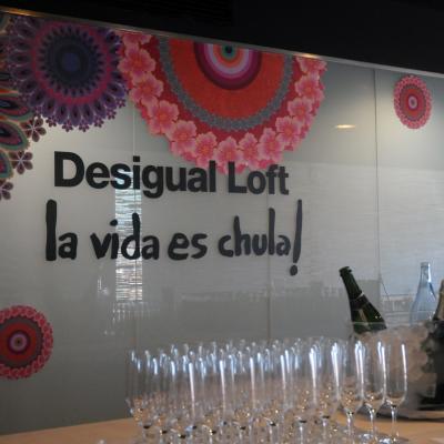 18SEPTIEMBRE2013 Desigual y el Hotel Barcelona Princess se han unido para decorar 18 habitaciones. Foto: Montse Carreño.