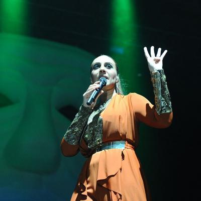 12DICIEMBRE2014 Concierto Mónica Naranjo en el Sant Jordi Club de Barcelona. Foto: Montse Carreño.