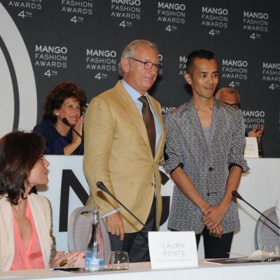 30MAYO2012 Rueda de prensa para nombra al ganador de la cuarta edición de los Mango Fashion Awards. Foto: Montse Carreño.