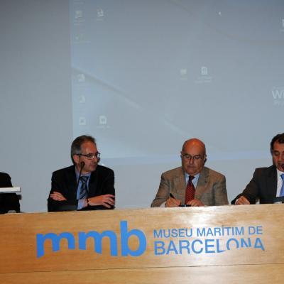 20 OCTUBRE2013 Espaijoia concluyó con una exitosa edición. Foto: Montse Carreño. De izq. a dcha., Paulo Ribeiro, Juan Valencia, Miguel Rodríguez y David Vendrell.