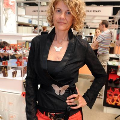 11-13ABRIL2013 Feria Eurobijoux & Mibi Barcelona. Erikahartje. Foto: Manel Martin.