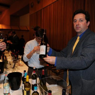 15ABRIL2013 Cata de vinos, destilados y aguas de grandes marcas del mundo. Foto: Manel Martin.