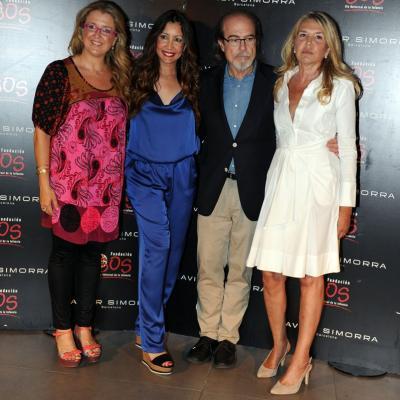 12JUN IO2013 Presentación de la Global Gift Gala. Anna Tarrés, María Bravo, Javier Simorra y Cristina Muñoz. Foto: Manel Martin.
