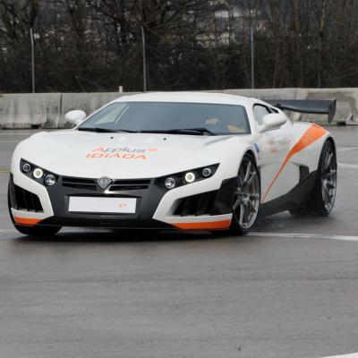 28FEBRERO2013 Presentación del nuevo vehículo eléctrico. Foto: Manel Martin.