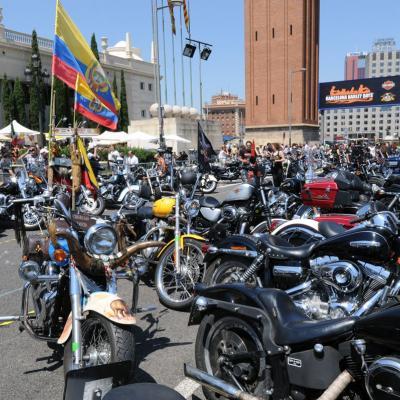 5AL7JULIO2013 Barcelona Harley Days. Foto: Manel Martin.