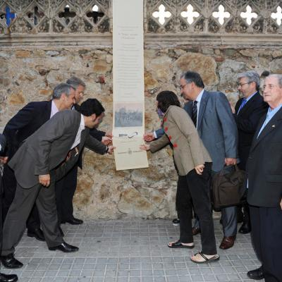 """09JUNIO2011 Acto conmemorativo de la salida de la primera """"Volta"""" Ciclista a Catalunya con motivo de su Centenario. Foto: Manel Martin"""