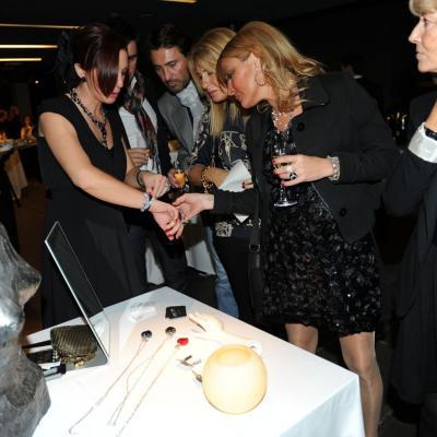 17NOVIEMBRE2011 Presentación de la nueva colección, de alta bisutería, de la firma austriaca Croxé. Foto: Manel Martin.
