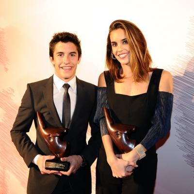 16DICIEMBRE2013 Campeones del 2013. Mejores deportistas catalanes del 2013, Ona Carbonell y Marc Màrquez. Foto: Manel Martin.