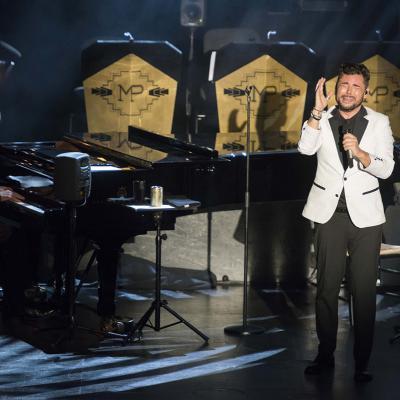 AGOSTO2017 Gala de Miguel Poveda contra el cáncer en el Liceu de Barcelona. Foto: TVE.