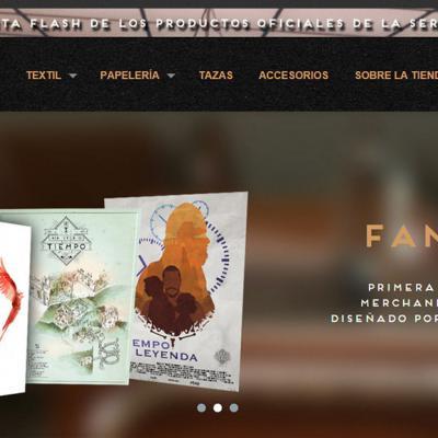 04MARZO2016 'El Ministerio del Tiempo' lanza la primera tienda de 'merchandising' oficial con productos diseñados por los fans.