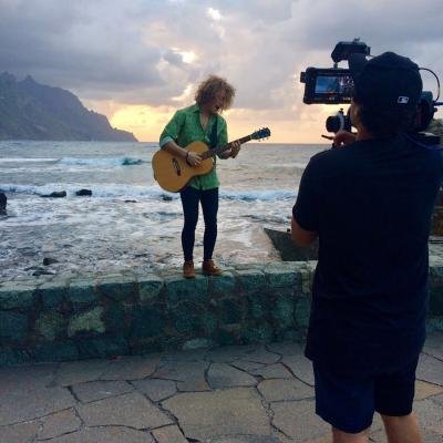 MARZO2017 Manel Navarro ya inmerso en la promoción de su canción para Eurovisión. Foto: TVE.