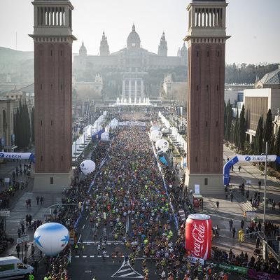 DICIEMBRE2016 La Zurich Marató de Barcelona rememorará los 25 años del maratón Olímpico.